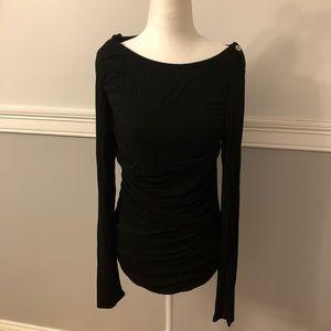 Black long sleeve M